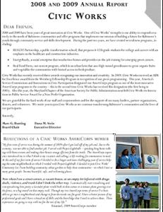 2008/2009 Annual Report